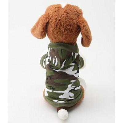 Sweat au style camouflage pour chien