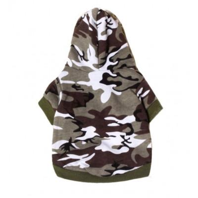 Sweat camouflage pour petit chien