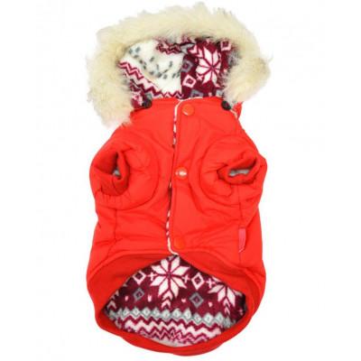 Manteau polaire pour chien