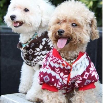 Manteau double face polaire pour chien