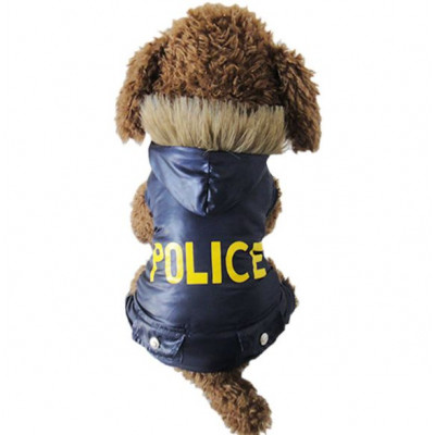 Doudoune POLICE pour chien