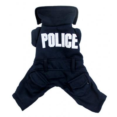 uniforme police pour petit chien