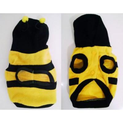 vêtement d'abeille pour petit chien