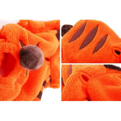 costume polaire de tigre pour chien