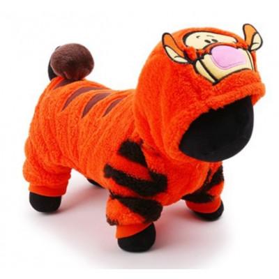 costume de tigre pour petit chien