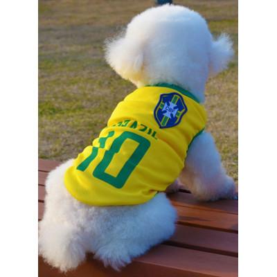 Maillot de foot BRESIL pour chien