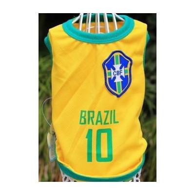 Maillot du brésil pour chien