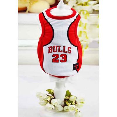Maillot de basket Chicago Bulls pour chien