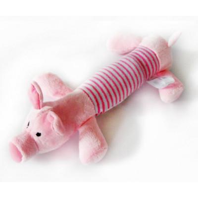 cochon en peluche pour chien