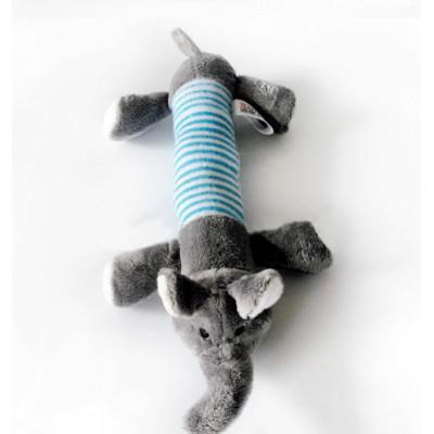 jouet éléphant couineur pour chien