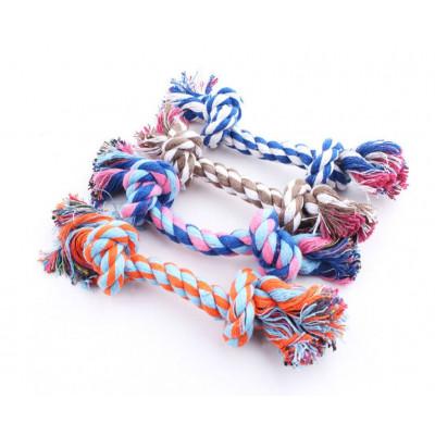 Jouet en corde tressée pour chien