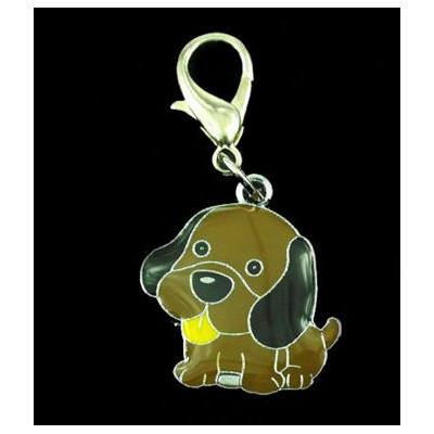 Bijou pendentif en forme de chien