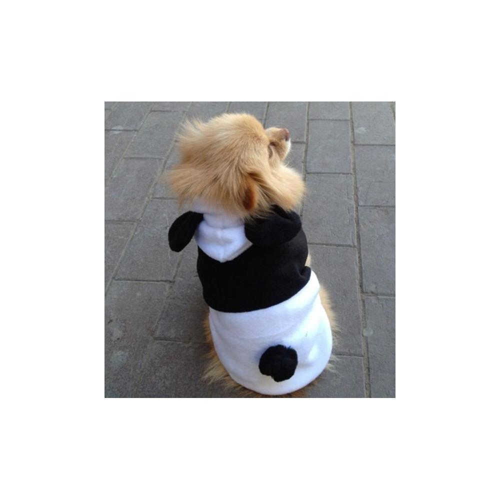 Déguisement de panda pour chien