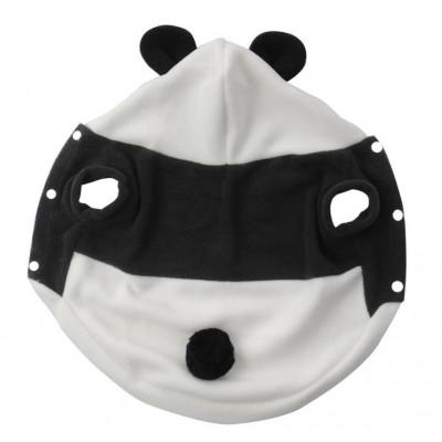 Déguisement de panda pour petit chien