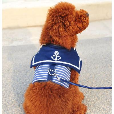 harnais veste de marin pour chien