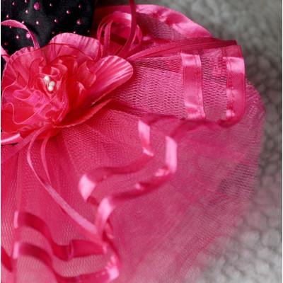 Robe avec grosse fleur pour femelle