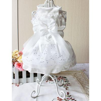 Robe de mariée pour chien