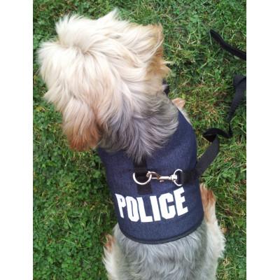 Bijou collier en perles avec COEUR en strass pour chienne