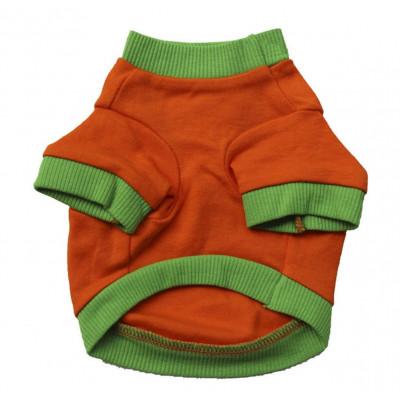 maillot citrouille d'halloween pour chien