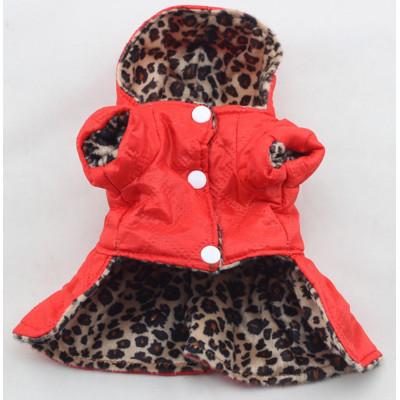 Manteau tacheté pour petit chien