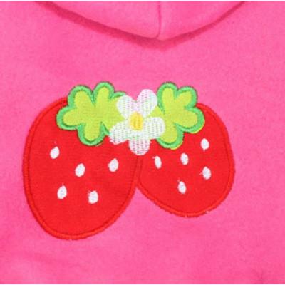Pull décoration fraises pour femelle