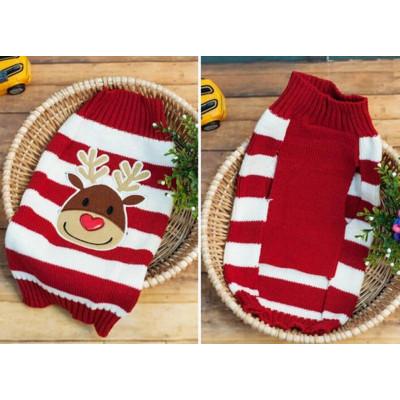 tricot de noël pour chien