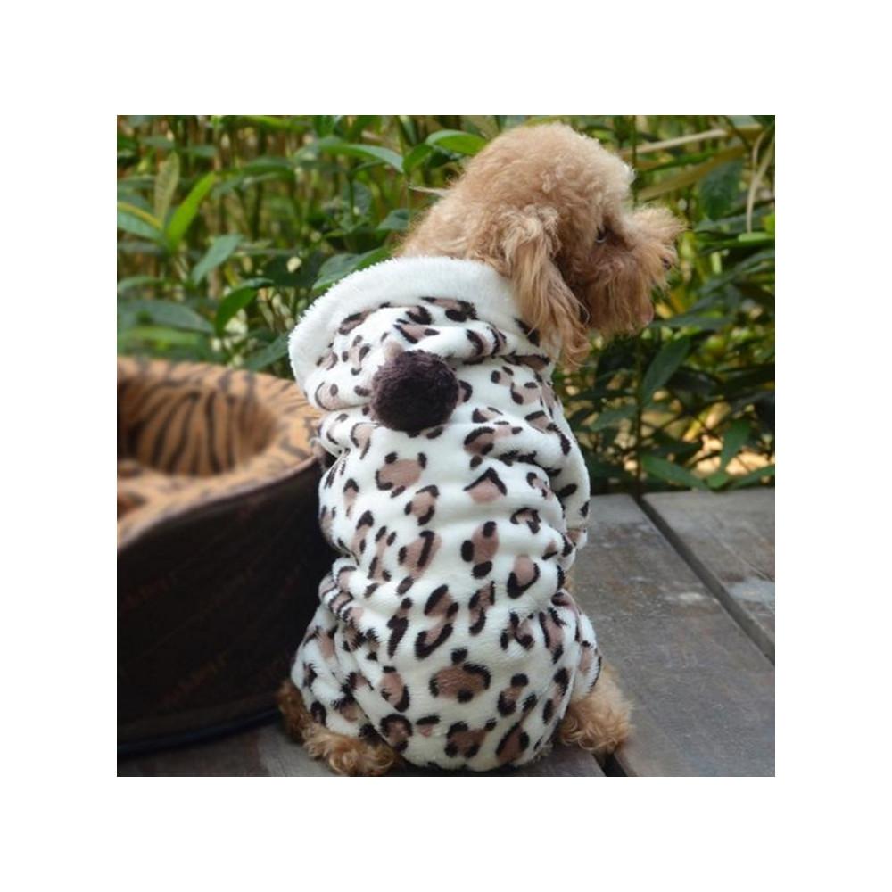 Combinaison léopard pour chien