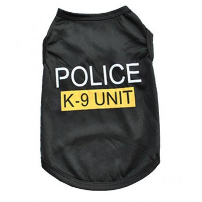 maillot police pour chien
