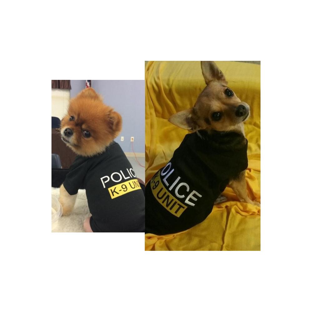 t-shirt k9 pour chien