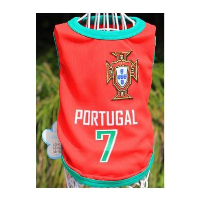 t-shirt football portugais pour chien