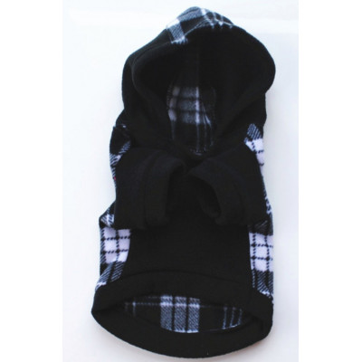 Pull noir pour chien