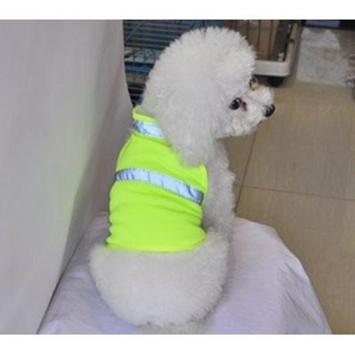 gilet jaune fluo pour petit chien