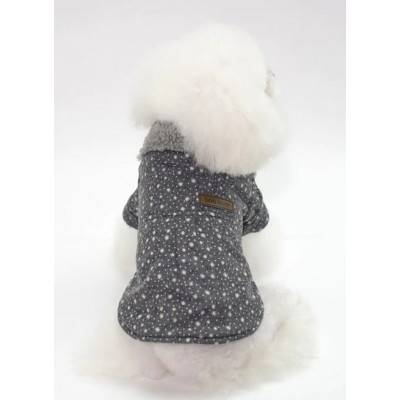 Manteau fourré pour chien
