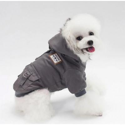 Manteau stylé pour petit chien