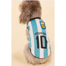 maillot football argentine pour chien