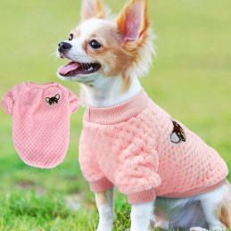 pull en polaire pour petit chien